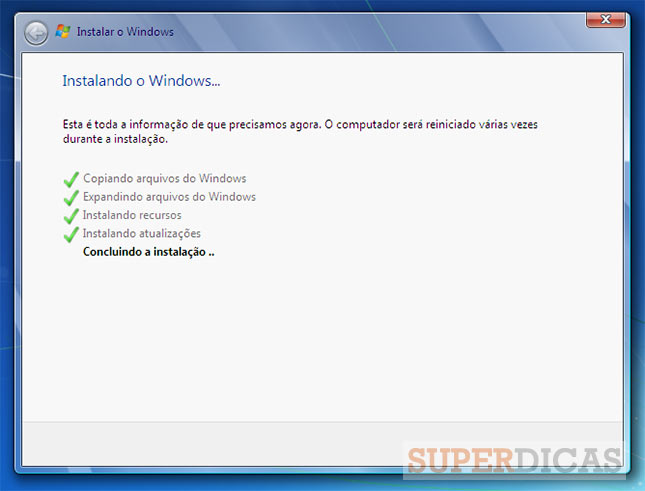 Como instalar o Windows 7?