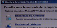 Resolve os problemas de boot do Windows Vista