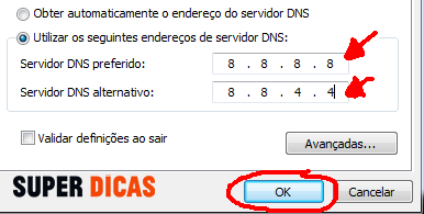 Acelera a Internet no Windows usando o Google Public DNS