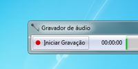 Gravar Áudio no Windows