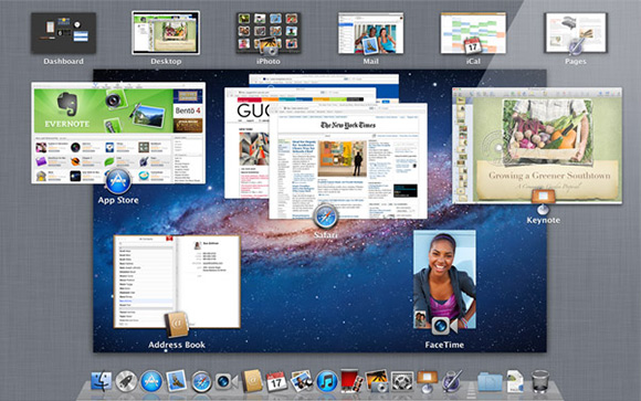 Mission Control - Mac OS X Lion