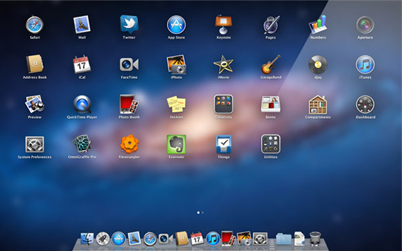 Launchpad - Mac OS X Lion