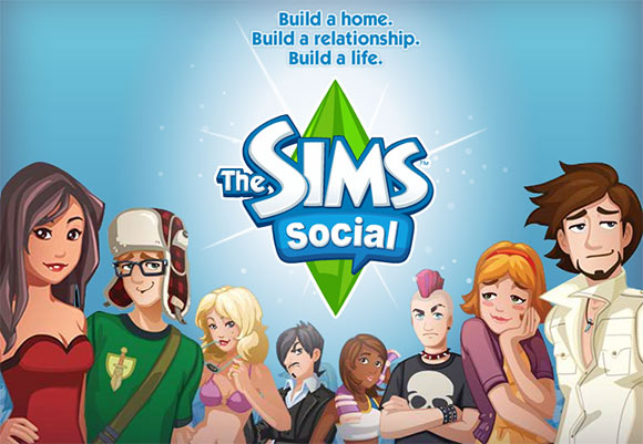 The Sims Social no Facebook