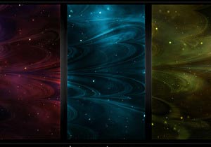 Seamless Abstract Nebule Textures - Brushes para Photoshop