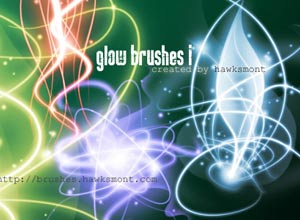 Glow Brushes Part I - Brushes para Photoshop