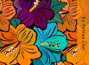 Very Flowery - Brushes para Photoshop