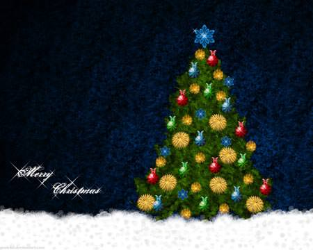 Christmas Tree - Wallpapers de Natal Fantásticos
