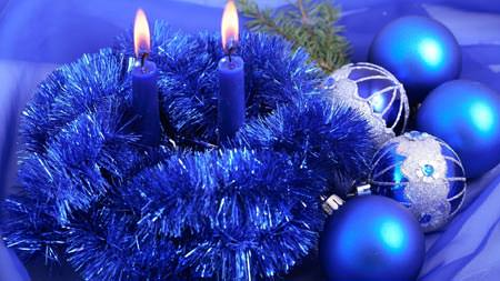 Blue-xmas Wallpaper - Wallpapers de Natal Fantásticos