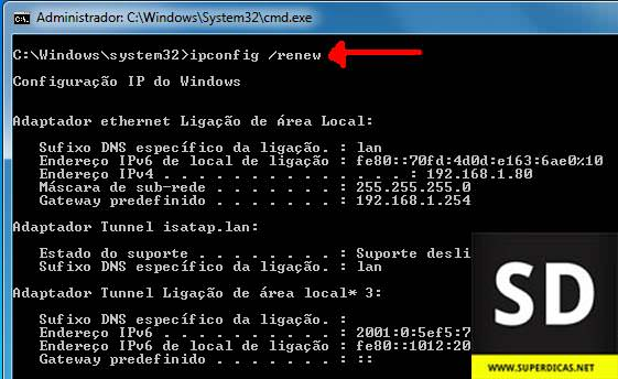 how to solve ip conflict windows 7