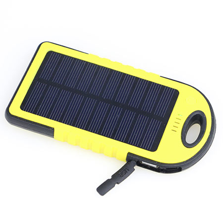 Solar Power Bank 5.000mAh waterproof